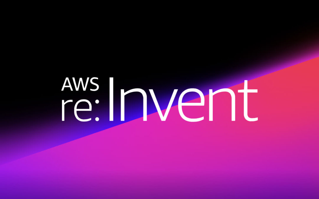 aws re:invent banner